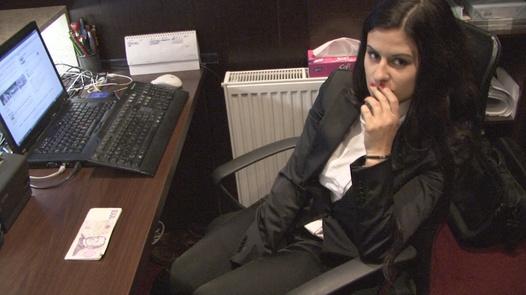 Hot receptionist
