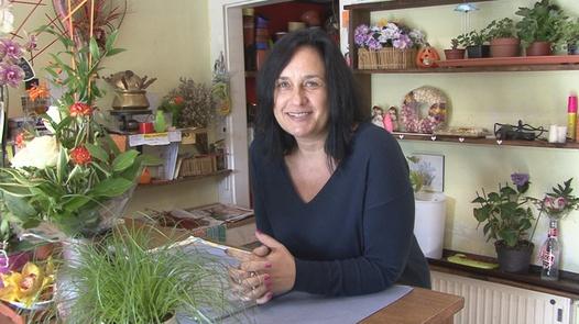 Busty shop assistant Alena