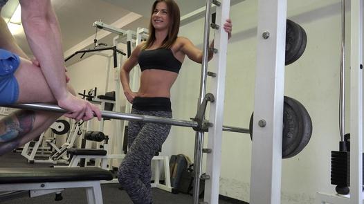 Fitness coach Pavla