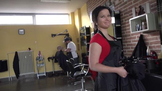 18 y/o hairdresser