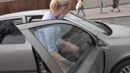 Fucking ride outside Prague   Czech Streets 128