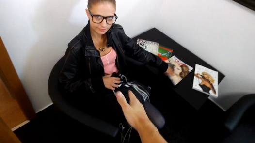 Lucie - naive student | Czech Supermodels 12
