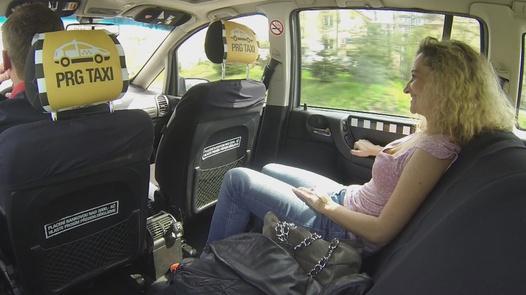 Gigantic squirt   Czech Taxi 3