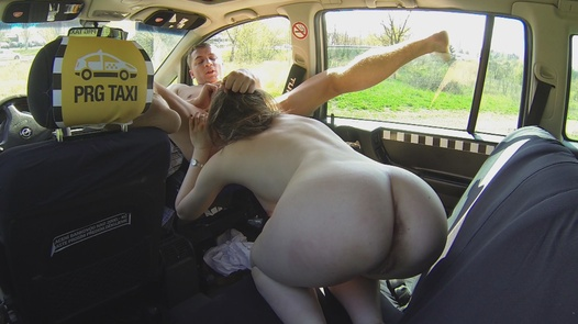 Anal ride with a squirt   Czech Taxi 4