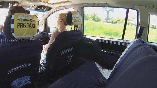 Blonde rides a cock | Czech Taxi 6
