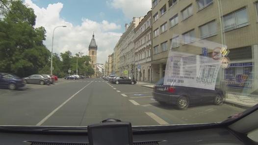 Triple female orgasm   Czech Taxi 7