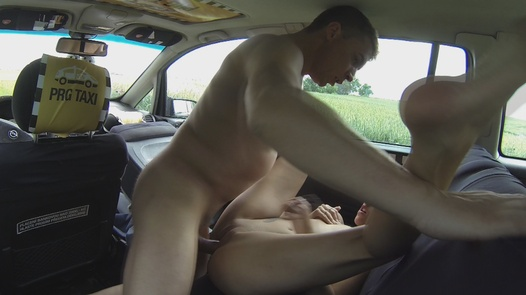 Squirting young nympho   Czech Taxi 8