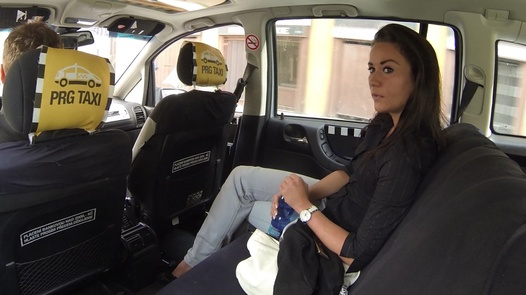 Squirting model | Czech Taxi 12