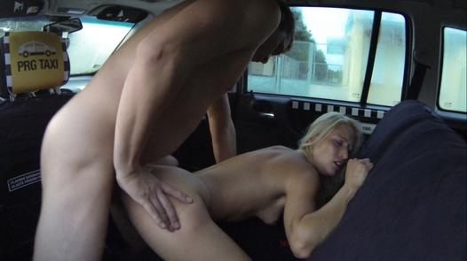 Massive mega squirt | Czech Taxi 13