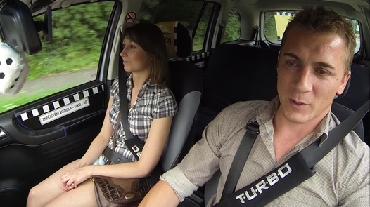 Cure by squirting   Czech Taxi 14