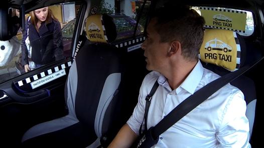 Beautiful nympho squirts | Czech Taxi 18