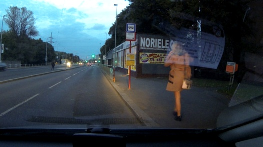 Married lady squirts   Czech Taxi 19