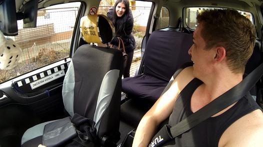 Graduate or slut? | Czech Taxi 23