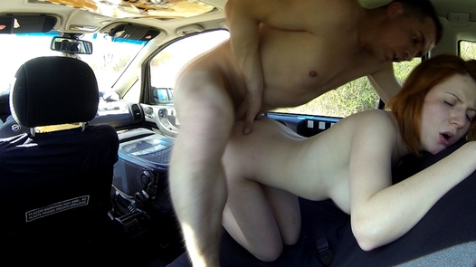 Schoolgirls squirts three times | Czech Taxi 26