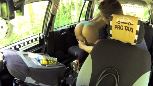 Massive 18 years old squirt | Czech Taxi 27