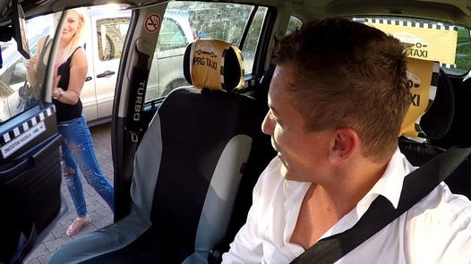 Perverts and squirting blonde | Czech Taxi 28