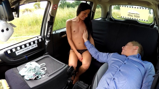 First wet orgasm | Czech Taxi 30