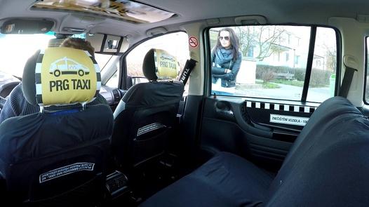 The most beautiful Czech squirt   Czech Taxi 32