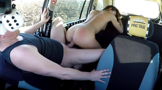 The most beautiful Czech squirt | Czech Taxi 32