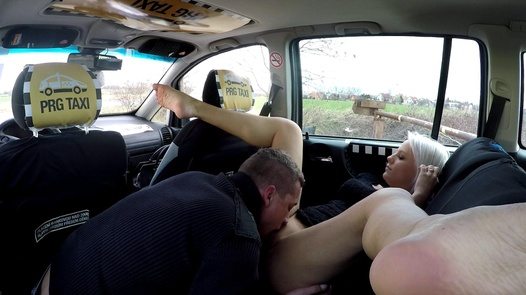 Busty blonde pussycat | Czech Taxi 34