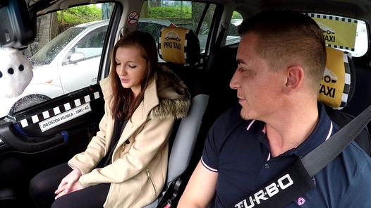 Squirting schoolgirl | Czech Taxi 37