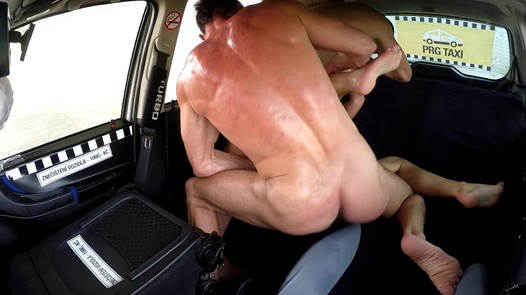 Threesome with a mature nympho | Czech Taxi 39