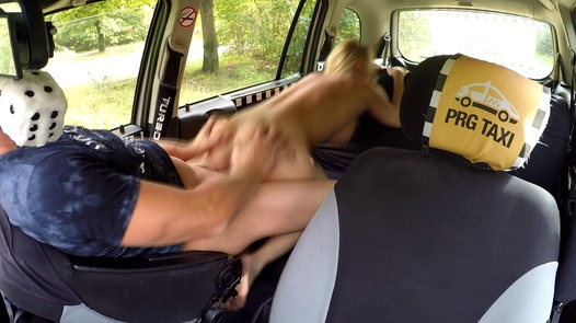 Mature busty nympho squirts | Czech Taxi 41
