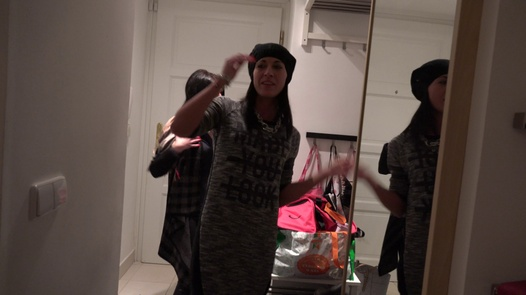 Lesbian party with a huge cucumber | Czech Twins 6