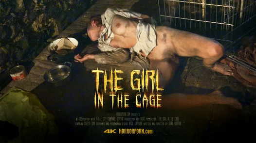 The girl in the cage