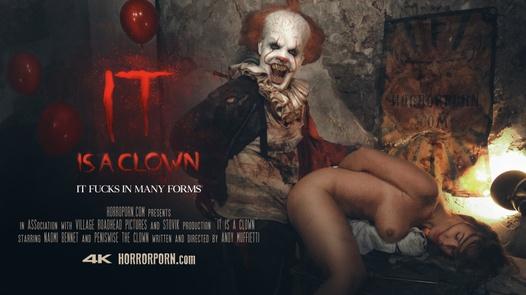 Es ist ein Clown