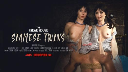 Dům zrůd - siamská dvojčata
