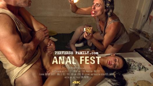 Rodinná anální zábava