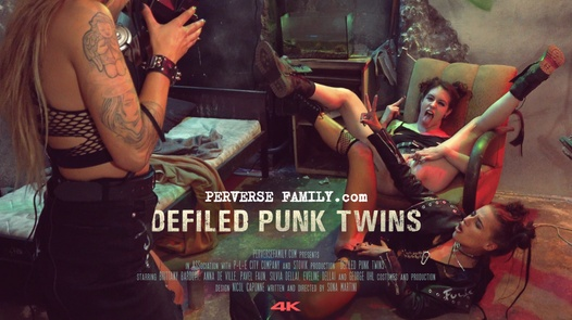 Defiled punk twins