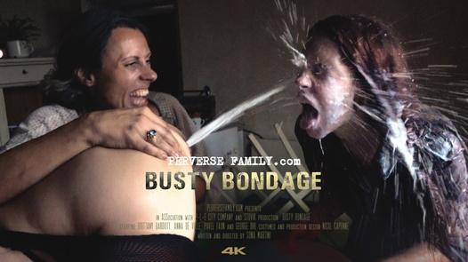 Busty bondage
