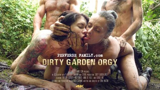 Schmutzige Familie Orgy