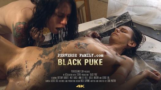schwarz Puke