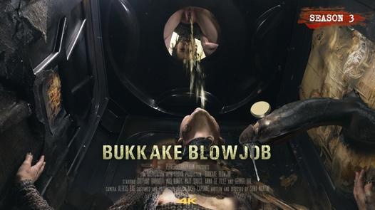 Bukkake Blowjob