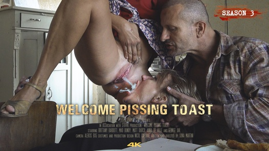 Welcome Pissing Toast