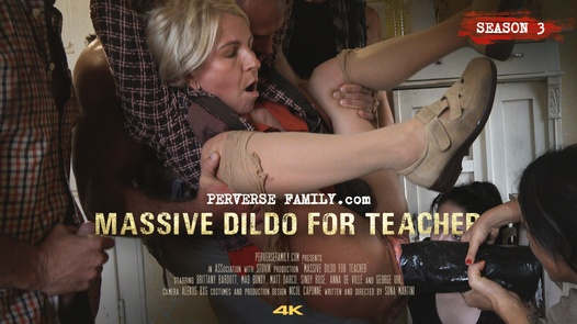 Massive Dildo for Teacher