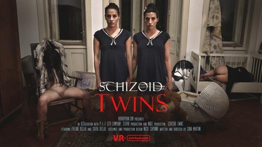 Schizoid twins in 180°