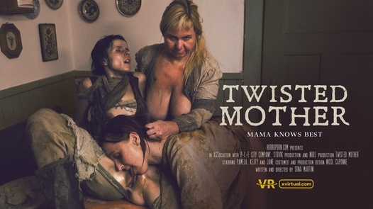Twisted mother in 180°