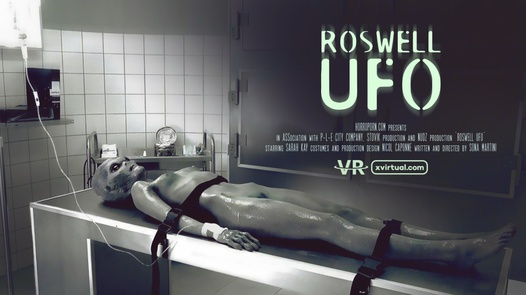 Roswell UFO in 180°