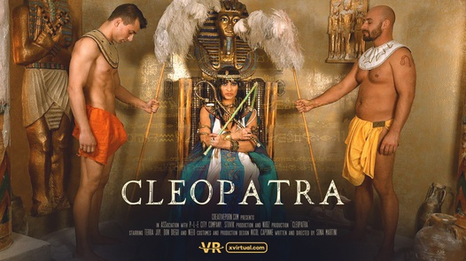 Cleopatra in 180°