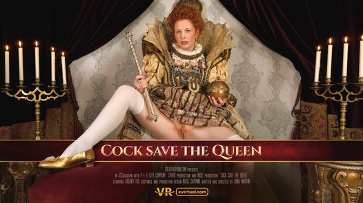 Cock save the Queen in 180°