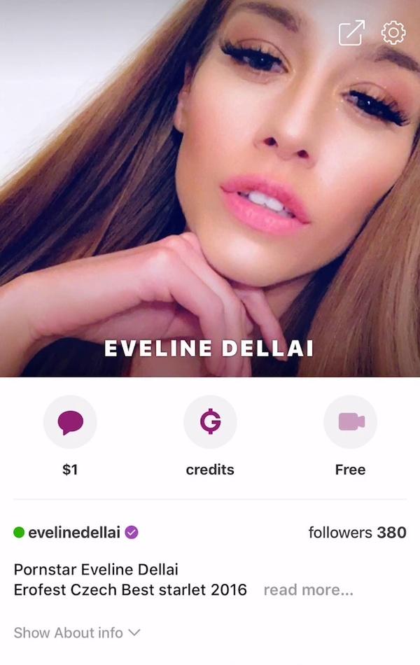 Eveline Dellai fucked in a hotel