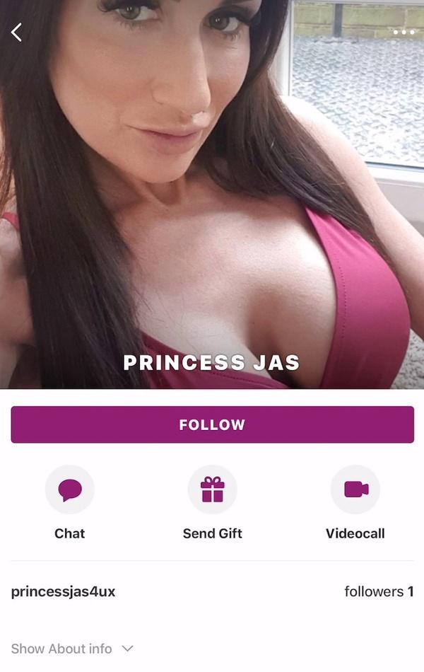 Princess Jas set a date through the Glamino.com