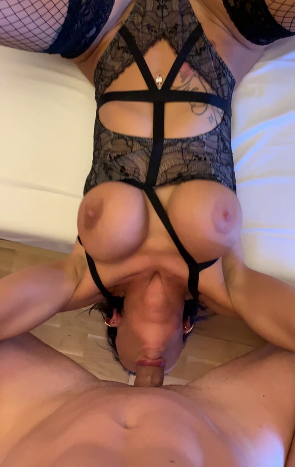 Princess Jas fucks in sexy lingerie