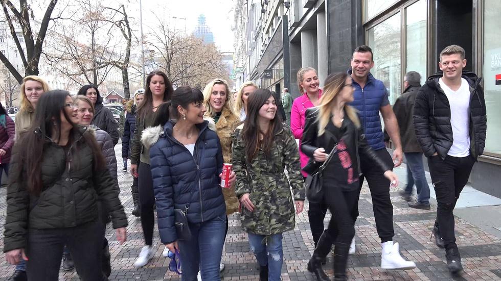 20 nymphomaniacs hunt men in the street (Part 1) :: Czech