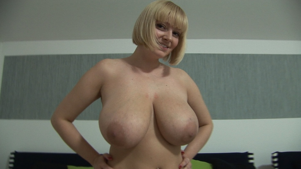 Huge Bouncing Natural Tits